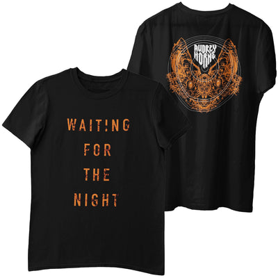 "Audrey Horne ""Waiting For The Night"" Mens T-Shirt - Nordic Music Merch"