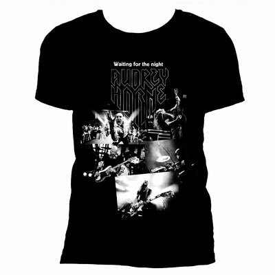 "Audrey Horne ""Collage"" - Mens T-Shirt - Nordic Music Merch"
