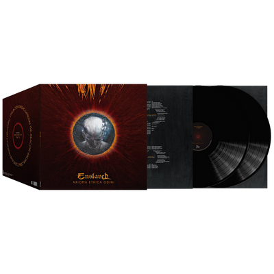 Enslaved - Axioma Ethica Odini (Re-Issue) Black 2xLP - Nordic Music Merch