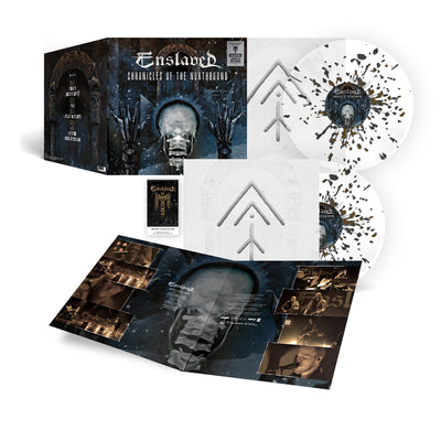 Enslaved - Chronicles Of The Northbound (Cinematic Tour 2020) Splatter 2LP - Nordic Music Merch