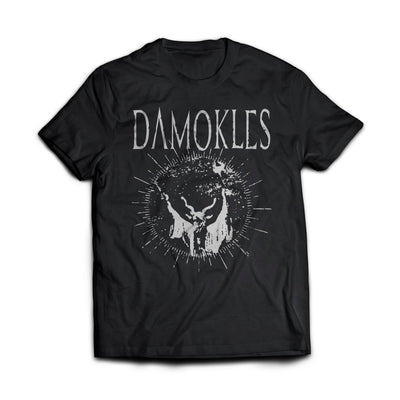"Damokles ""Hellfire"" T-Shirt - Nordic Music Merch"