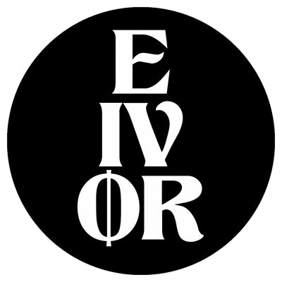 Eivør - Logo - Round sticker - Nordic Music Merch