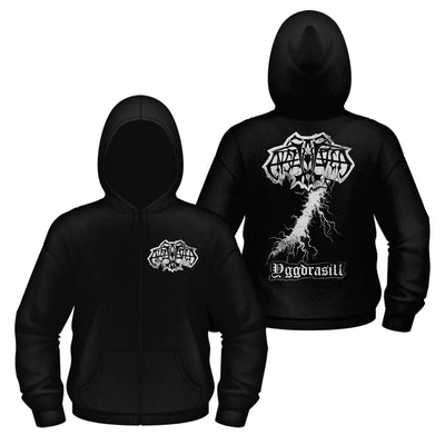 Enslaved - Yggdrasill Zipper Hoodie - Nordic Music Merch