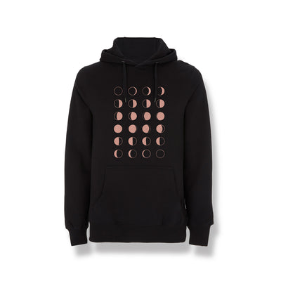 Eivør - Moon Phase Hoodie (Black, Unisex) - Nordic Music Merch