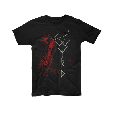 Gaahl's Wyrd - Gaahl Black T-Shirt - Nordic Music Merch
