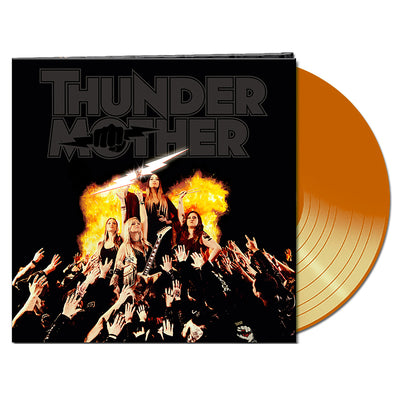 Thundermother - Heat Wave Vinyl (Orange) - Nordic Music Merch