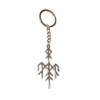 Wardruna - Rune Logo Keychain - Nordic Music Merch