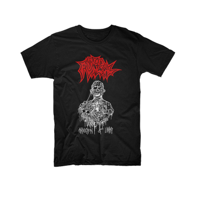 Old Funeral - Abduction of Limbs T-Shirt - Nordic Music Merch