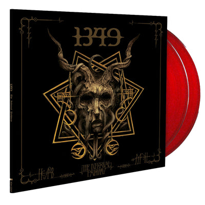 1349-The Infernal Pathway - 2LP - Clear Red - Nordic Music Merch