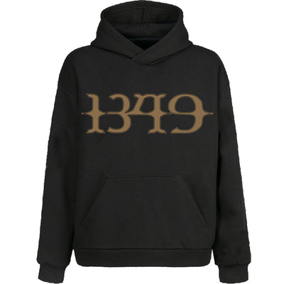 1349 - Tunnels Pullover Hoodie Black - Nordic Music Merch