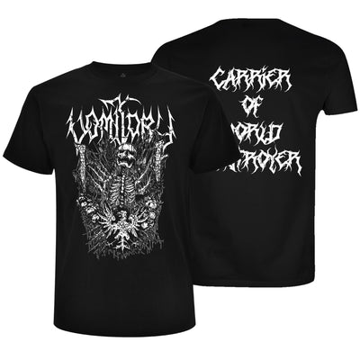 Vomitory - Carrier of World Destroyer T-Shirt - Nordic Music Merch