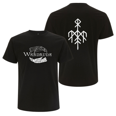 Wardruna - Kvitravn Horizontal T-Shirt - Nordic Music Merch