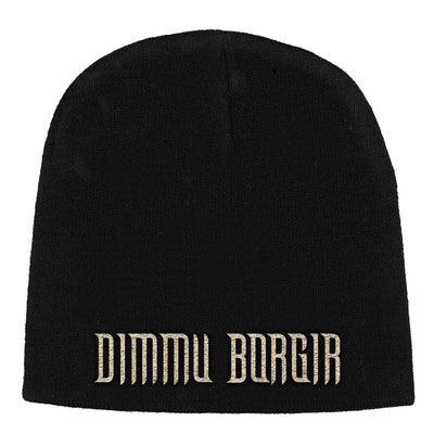"Dimmu Borgir ""Logo"" Beanie Hat - Nordic Music Merch"