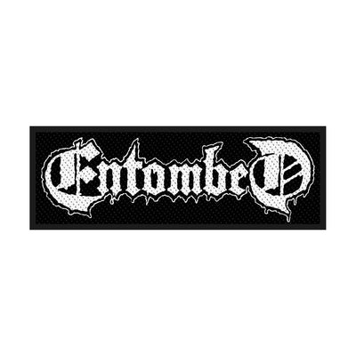 "Entombed ""Logo"" Woven Patch - Nordic Music Merch"
