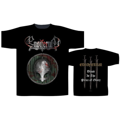 "Ensiferum ""Blood ls The Price Of Glory"" T-Shirt - Nordic Music Merch"