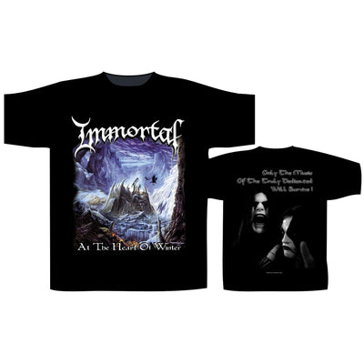 "lmmortal ""The Heart Of Winter"" T-Shirt - Nordic Music Merch"