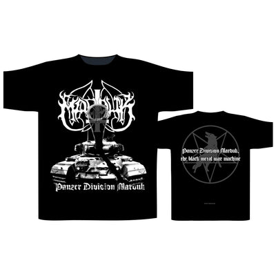 "Marduk ""Panzer Division"" T-Shirt - Nordic Music Merch"