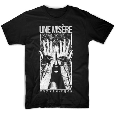 Une Misère - Fallen Eyes T-Shirt - Nordic Music Merch