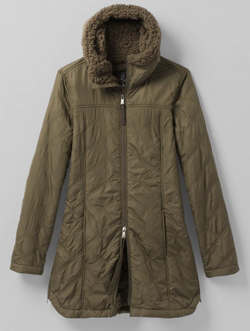 Esla Coat Green