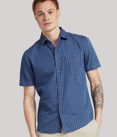 Playa Shirt- Indigo