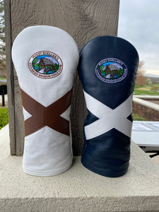"Covered Bridge GC x AM&E ""Yankee X"" Driver Headcover"