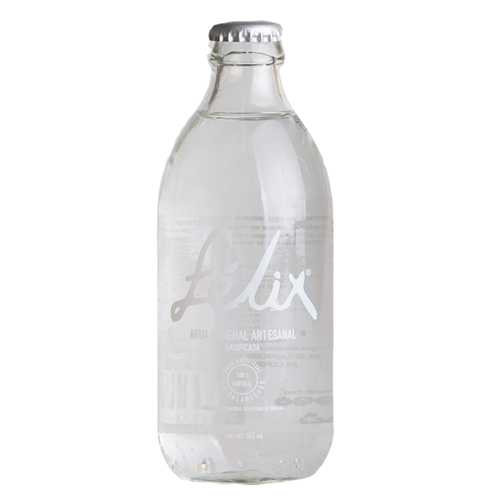 Agua Mineral con gas 355ml