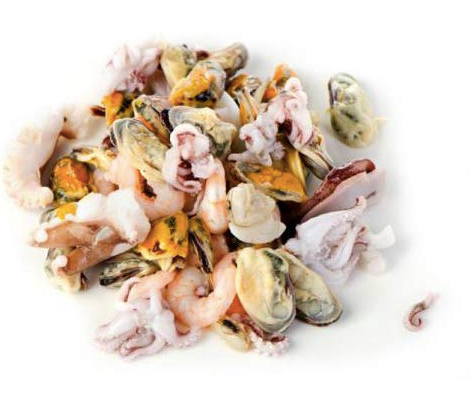 Seafood Mix in Oil