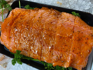 Marinated Salmon in Lemon Chilli and Ginger