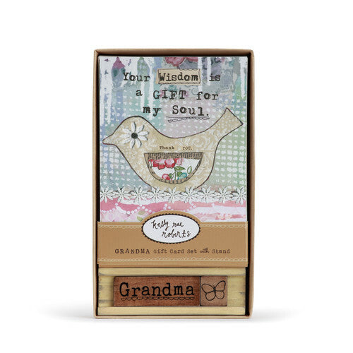 Grandma Art Card Set with Stand