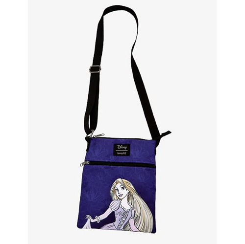 Loungfly Disney Tangled Rapunzel Passport Crossbody Bag