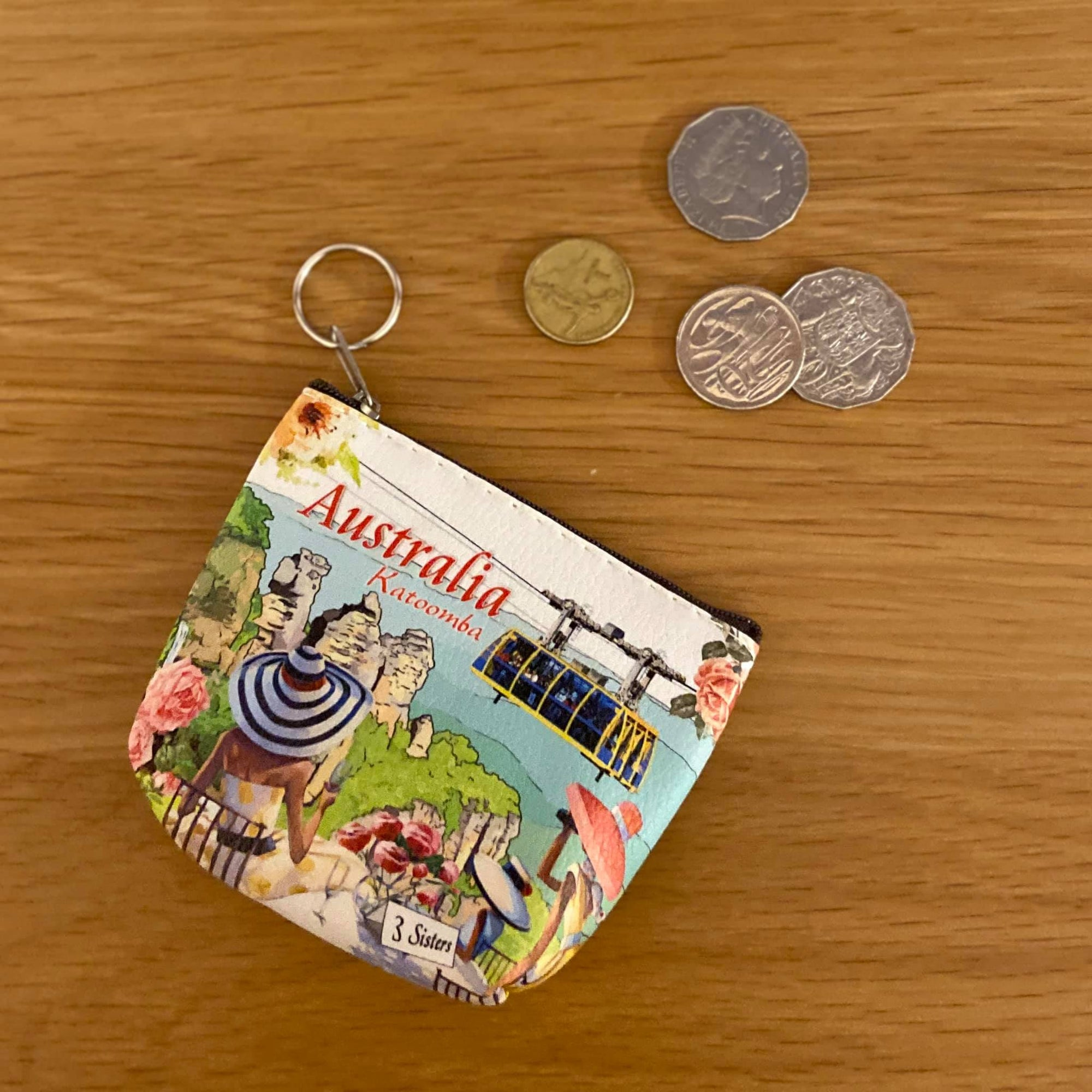 Katoomba, The three sister coin pouch