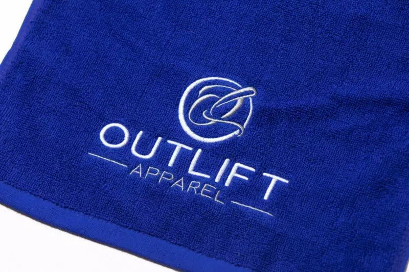 Outlift Gym Training Towel - Blue