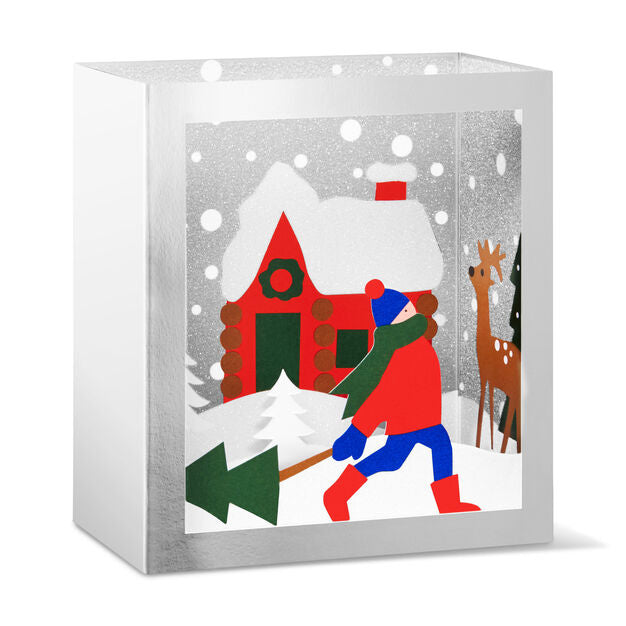 MoMo Festive Forest Holiday Cards (Box of 8)
