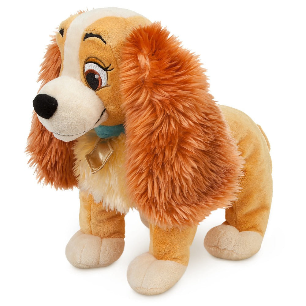 Disney Store Lady Plush - Lady and the Tramp - Medium - 14 inch