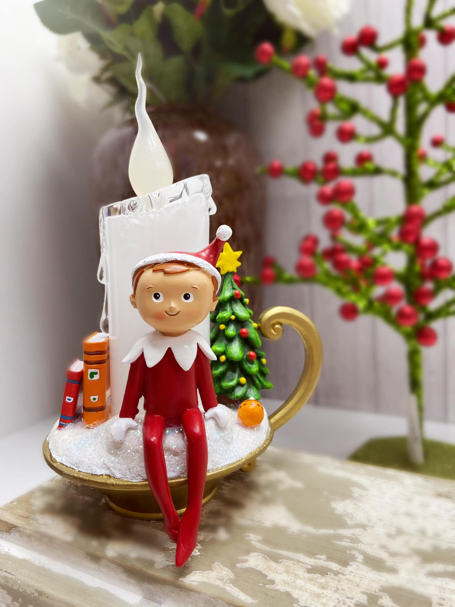 deal - Elf LED Candle Night Light