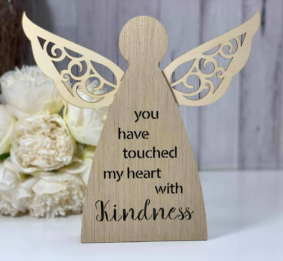 Angelic Blessing LED Plaque Kindness