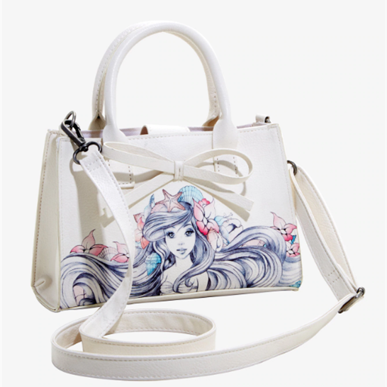 Loungefly Disney Little Mermaid Ariel Bow Handbag