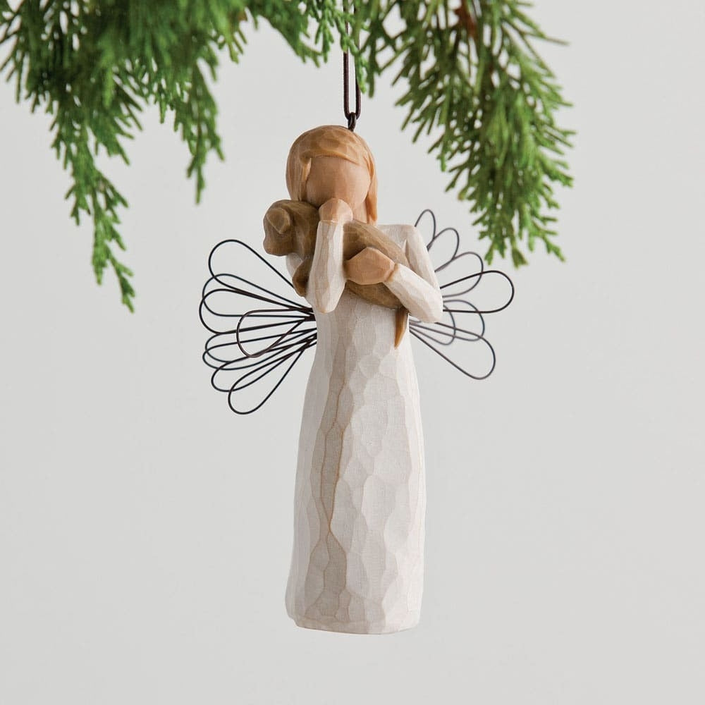 Angel of Friendship - Hanging Willow Tree Figurine