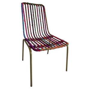 Paisley Chair - Recycled and Handmade Furniture