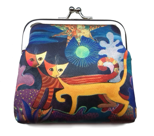 "Fridolin Coin Pouch ""Wonderland"""