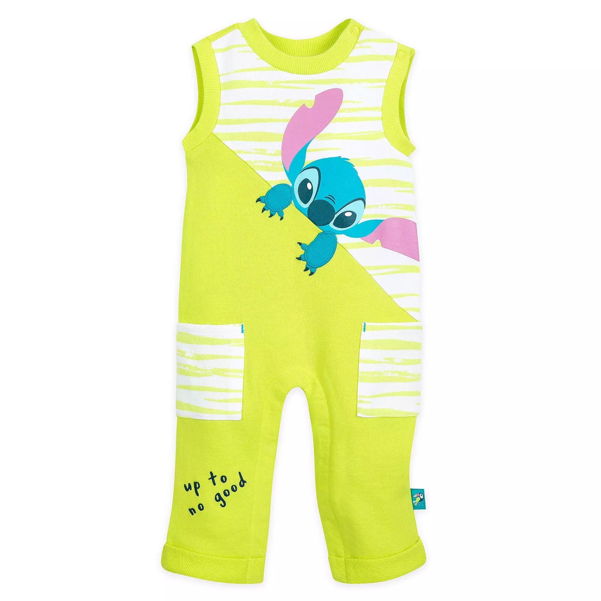 Stitch Sleeveless Romper for Baby