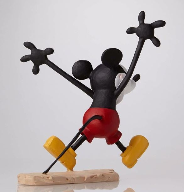 Mickey and Minnie Colour Set Maquette Walt Disney Archives Figurine