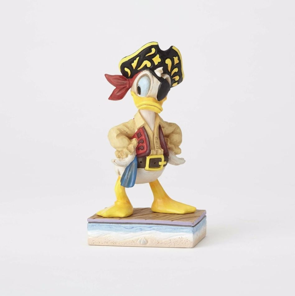 "Pirate Donald ""Salty Sailor"" - Jim Shore Disney Traditions Figurine"