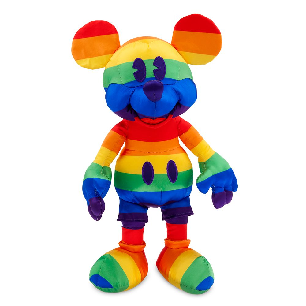 Rainbow Disney Collection Mickey Mouse Plush – Medium – 15 1/2'' – 2020
