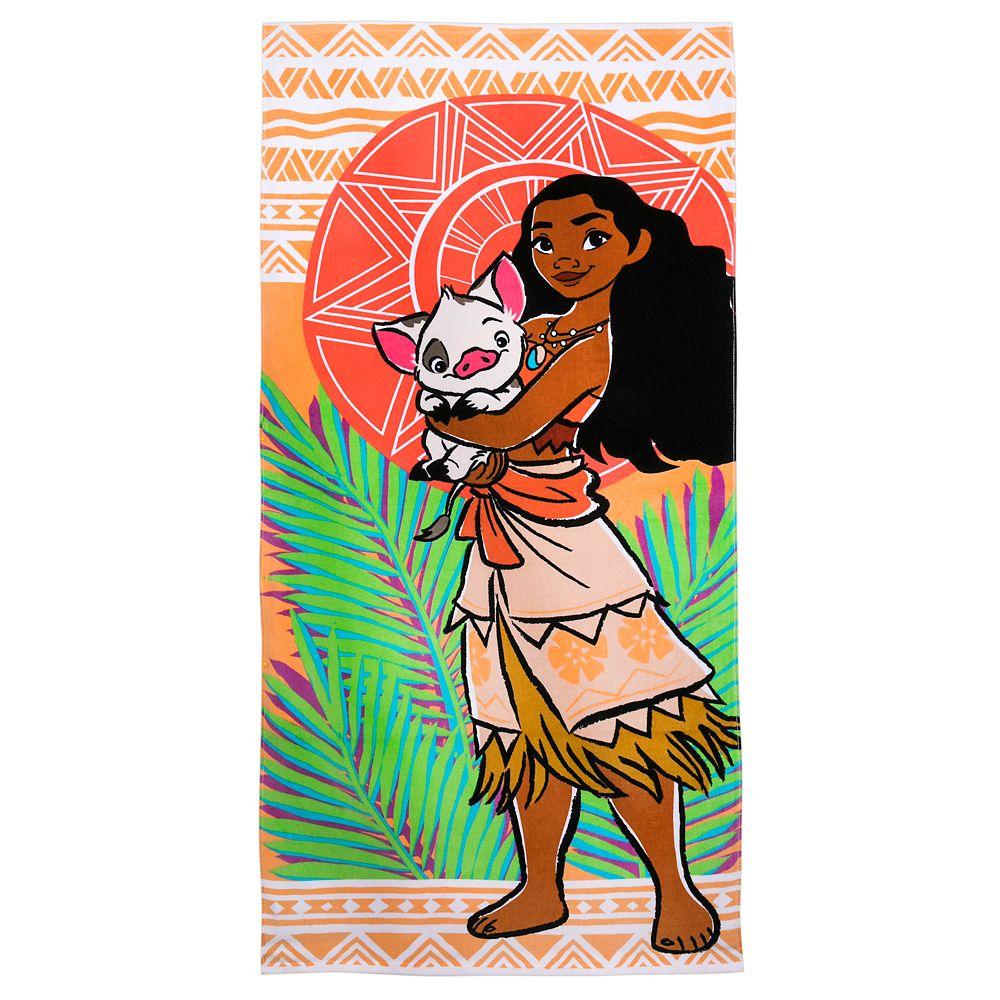 Disney Parks Moana Beach Towel