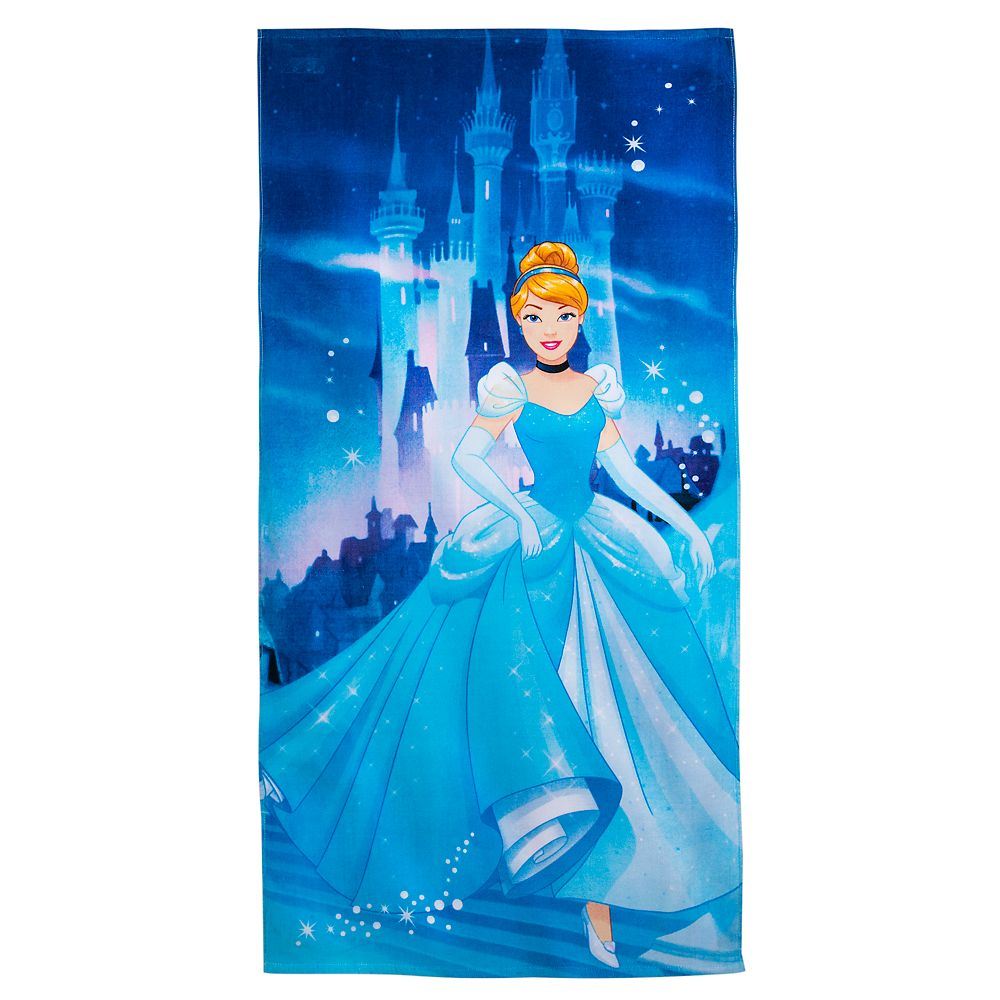 Disney Parks Cinderella Beach Towel