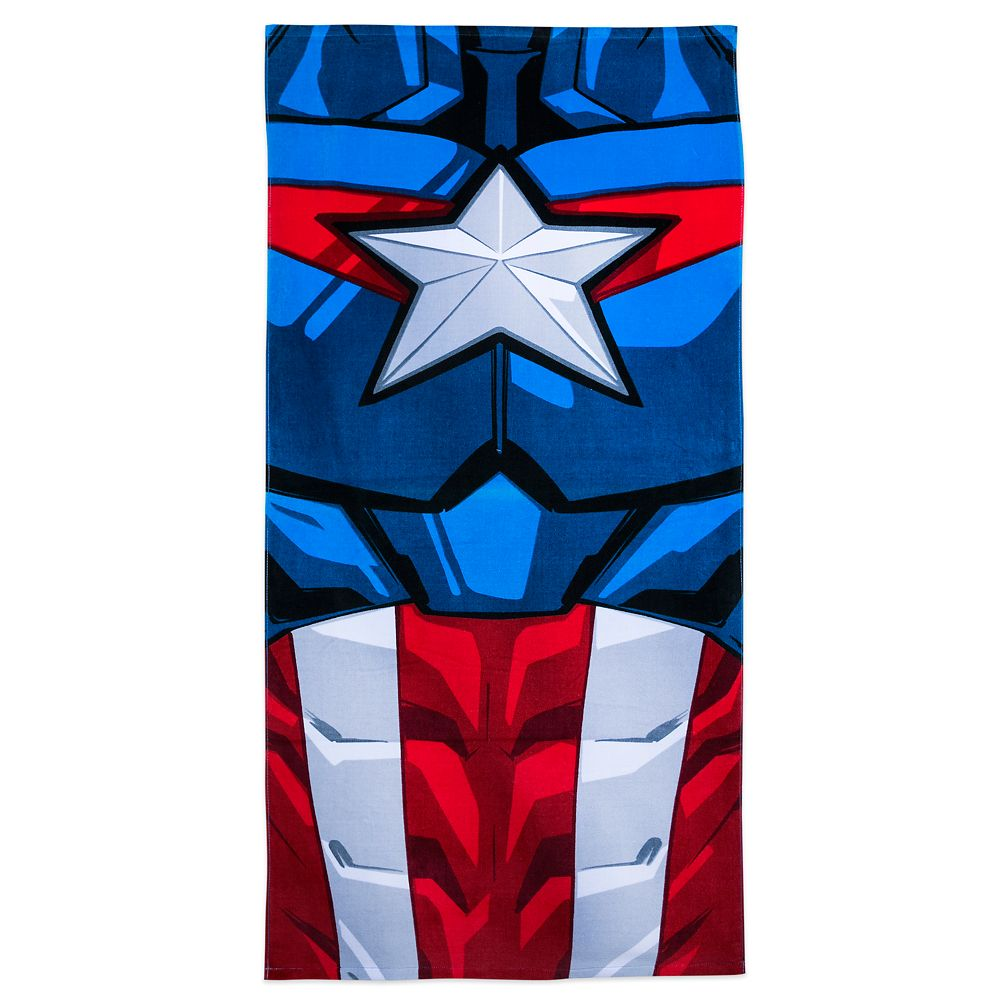 Disney Parks Captain America Beach Towel
