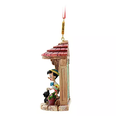 Pinocchio Legacy Sketchbook Ornament – 80th Anniversary – Limited Release