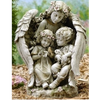 Garden - Angel with Children Statue