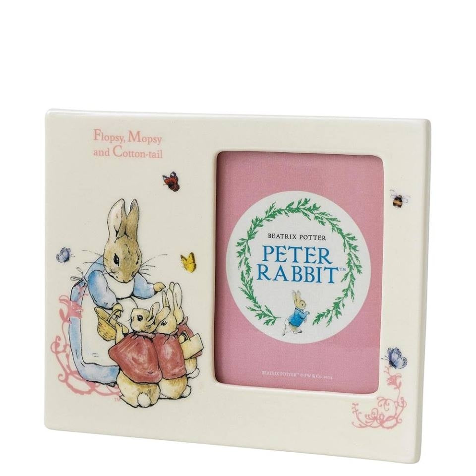 Floppy, Mopsy and Cottontail Photo Frame - Peter Rabbit